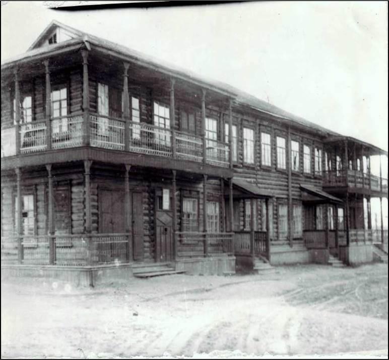 Дом пионеров с 1968 по 1969 гг